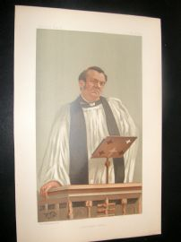 Vanity Fair Print 1898 Canon Richard Eyton